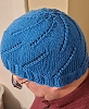 Blue Spiralized Hat