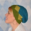 Garter Geometry Hat Pattern