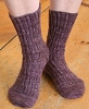 Two-Block Socks Pattern